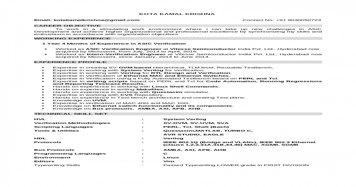 KAMAL RESUME -Verification Engg docx