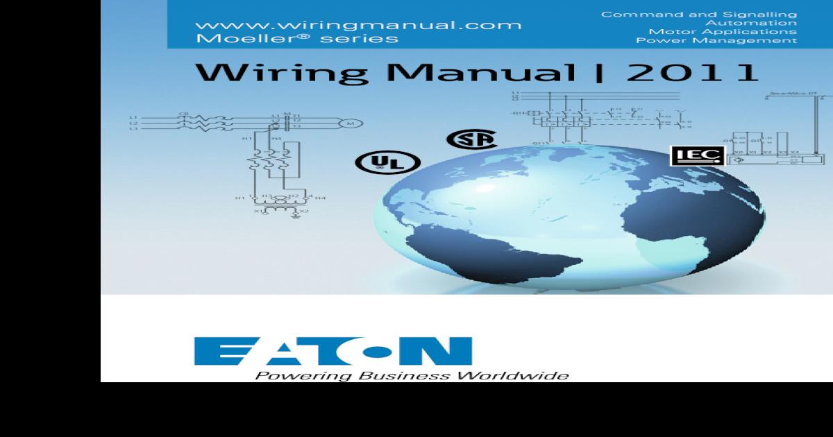 Wiring Manual 2011 [Moeller] on