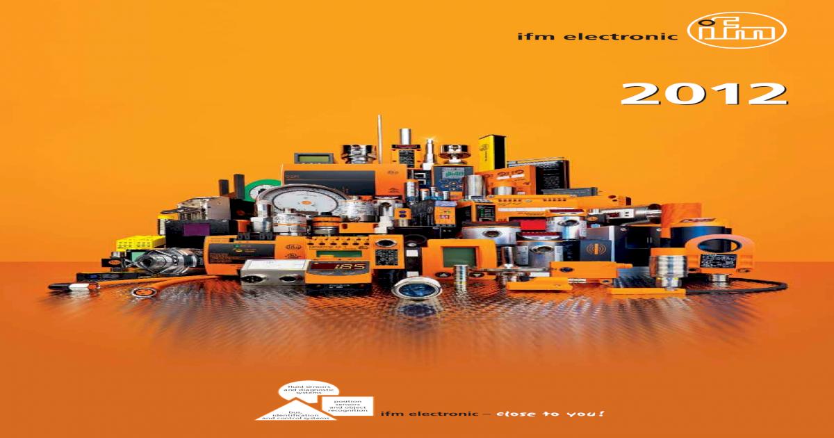 IFM VS 3000   SR0150   SRO 150