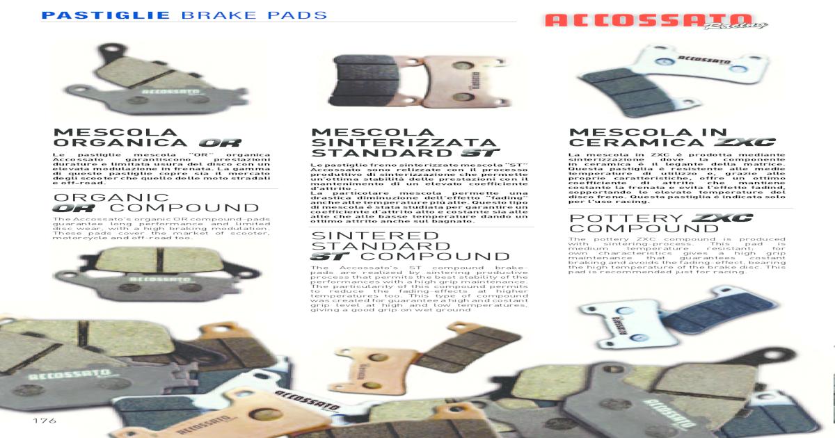 Fr+R Sintered Brake Pads For Yamaha KODIAK 400 YFM400 4x4 2000-2002