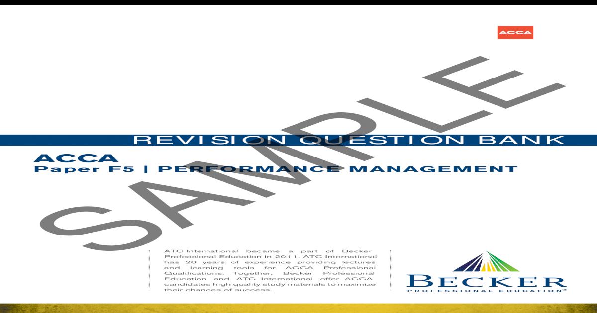 F5PM-Revision-Question-Bank_Sample_D14-J15 pdf