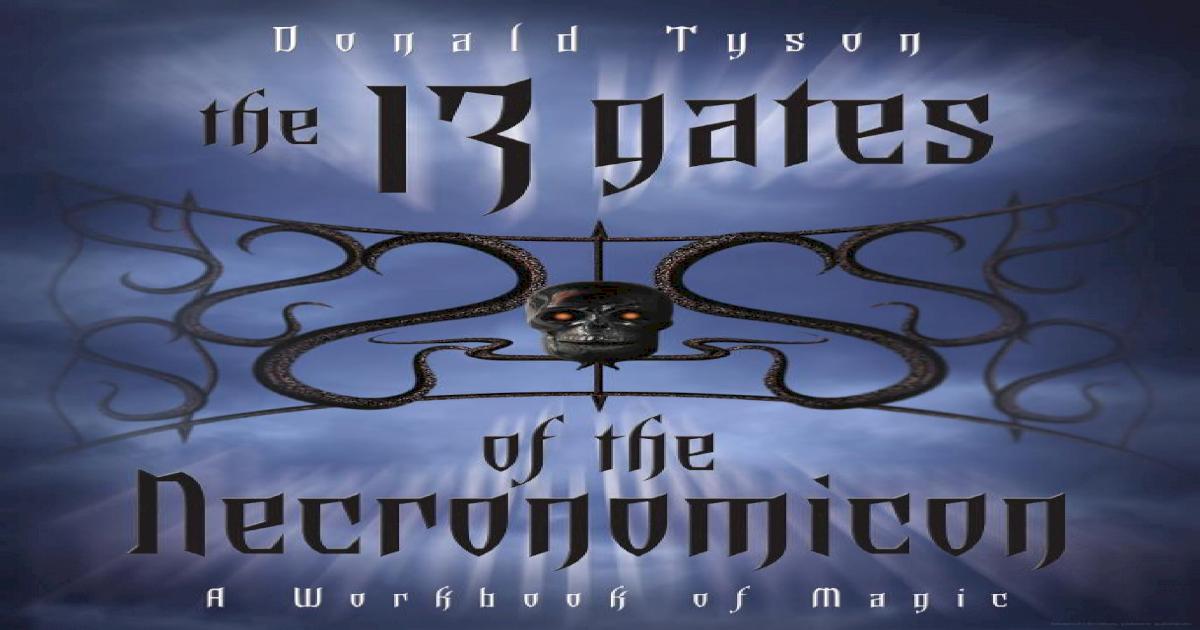 182762852 the 13 Gates of the Necronomicon PDF