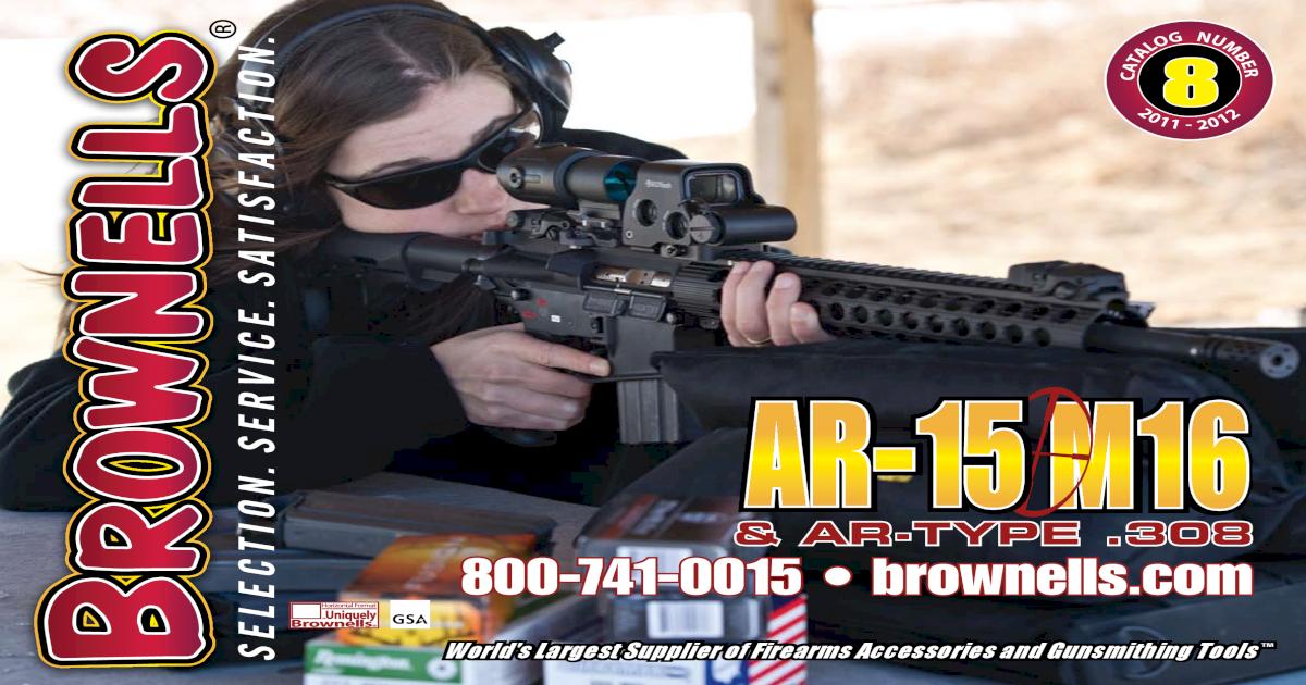 Catalog on the AR-15 rifle
