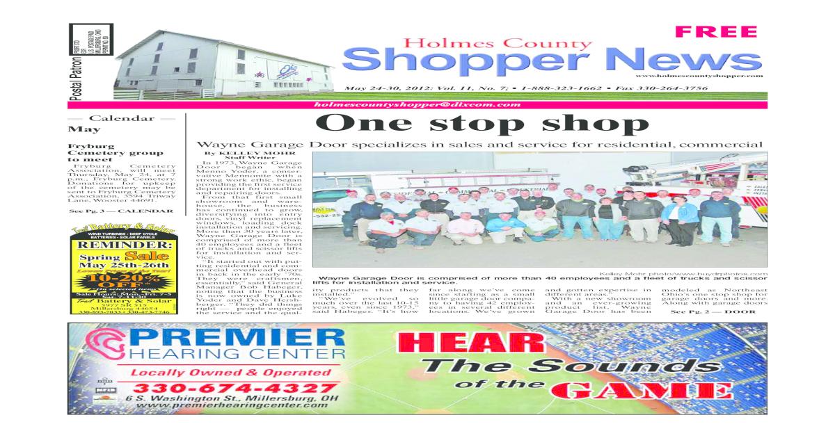 Holmes County Shopper May 24 2012