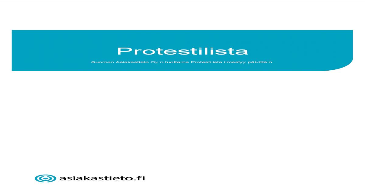 Protesti Lista
