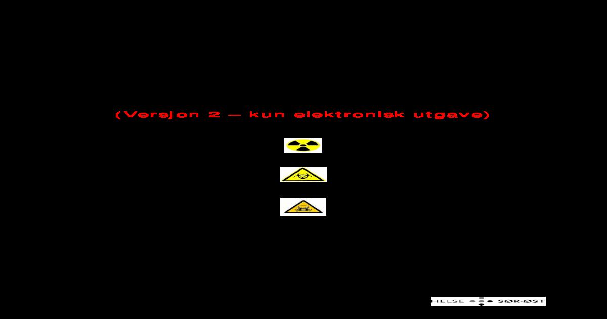 Hndbok I Nbc Medisin Med Spesiell Kompetanse Innen Hematologi Infeksjonsmedisin Toksikologi Og Akuttmedisin Er Tilknyttet Senteret Disse Er Samtidig Engasjert I Klinisk Arbeid