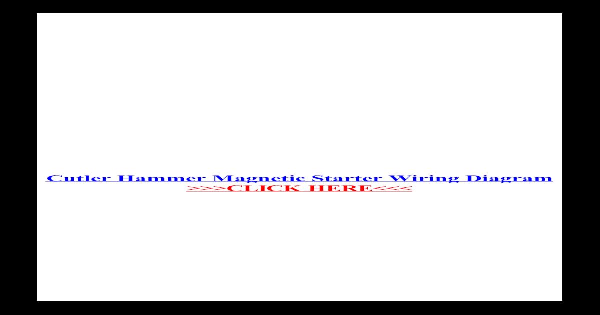Culter Hammer Ae16 Wiring Diagram