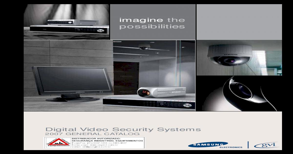 Samsung GVI GV-VD7305 Surveillance Camera