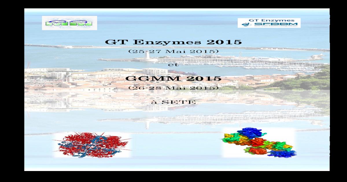 Gt Enzymes 2015 Ggmm 2015