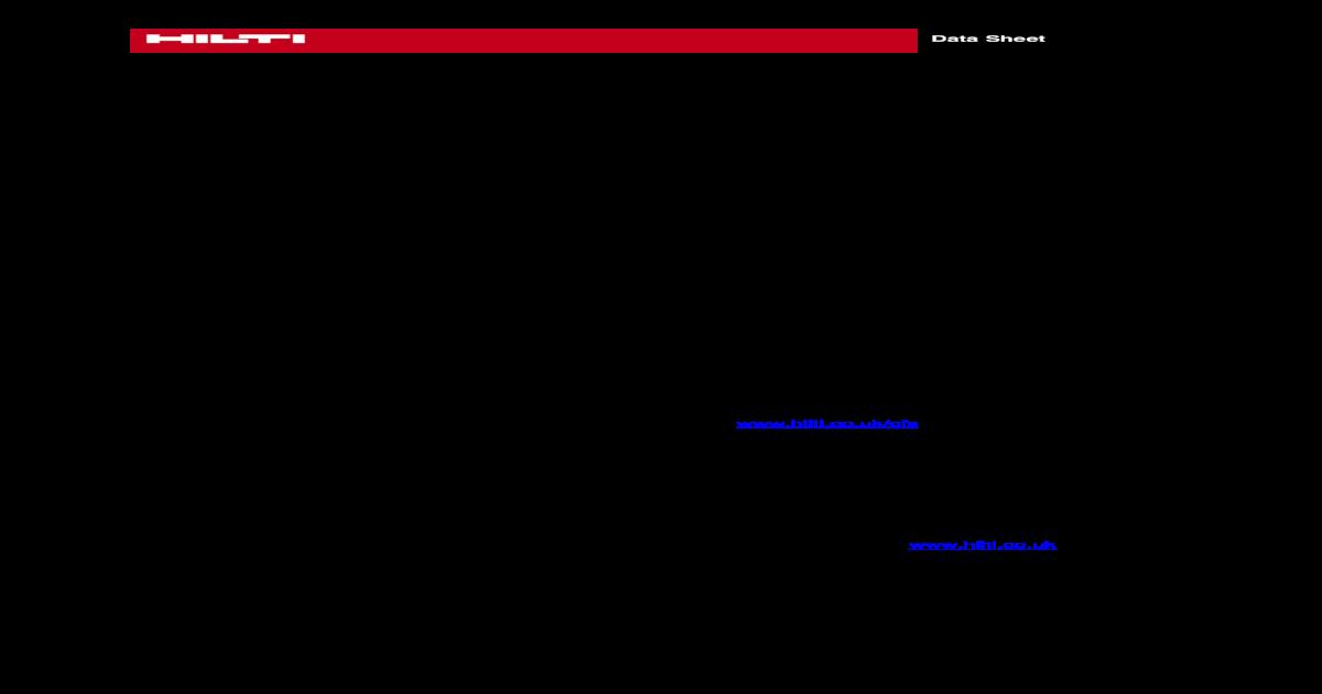 Hilti Firestop Specifiers Binder; CP 670 Firestop board