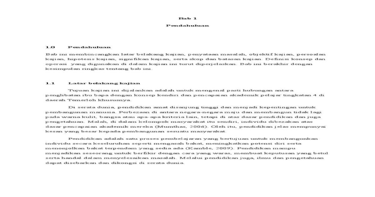 Definisi Pencapaian Akademik Pelajar