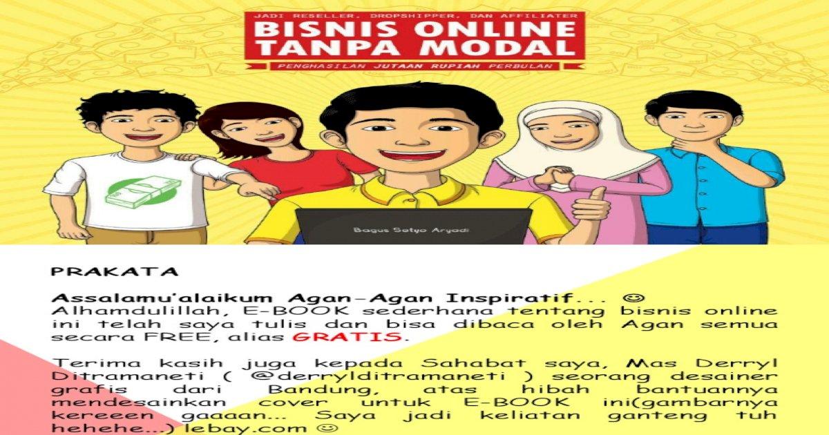 Bisnis Online Daftar Gratis Bonus Jutaan Rupiah - Daftar Ini