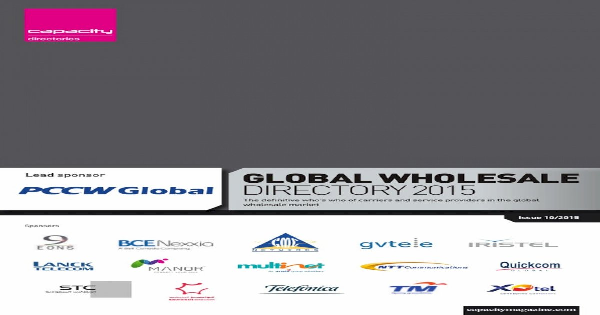 Wholesale Global Directory 2015 pdf