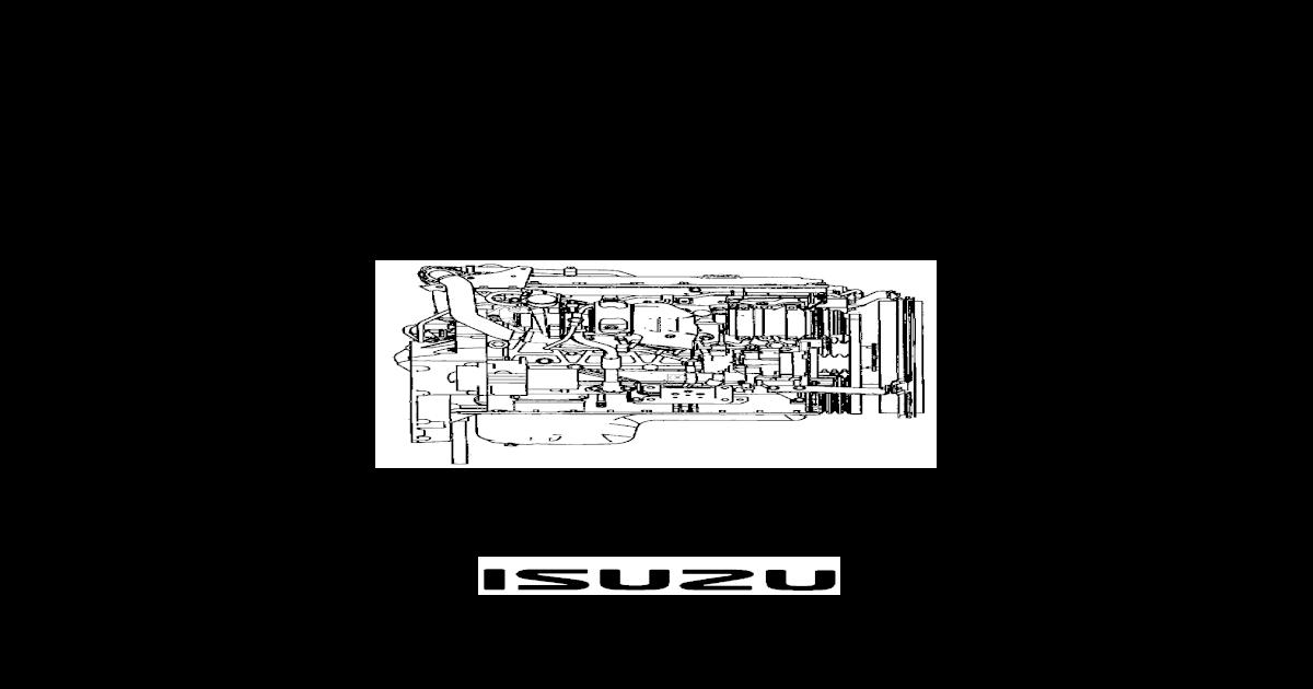 Npr Manual Y Diagrama Motor Isuzu 729 4hk1 Training Pdf