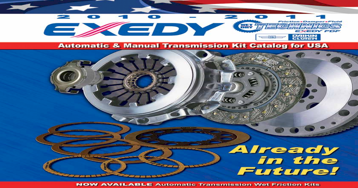 Exedy CRK1010 OEM Replacement Clutch Kit