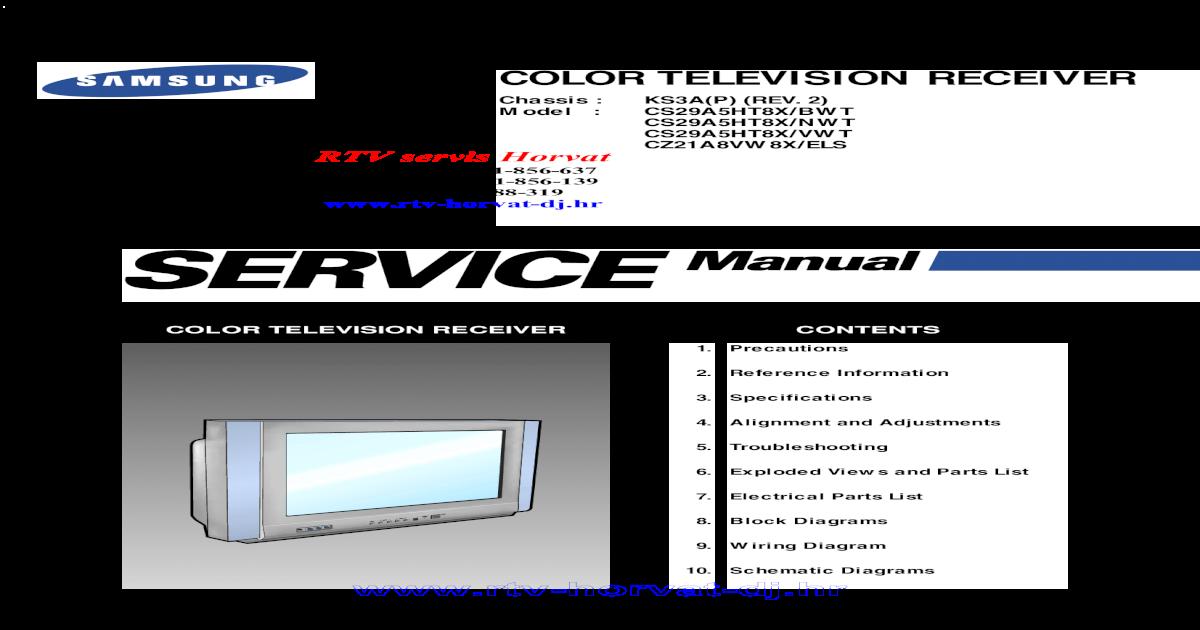 Tv Schematic (crt)