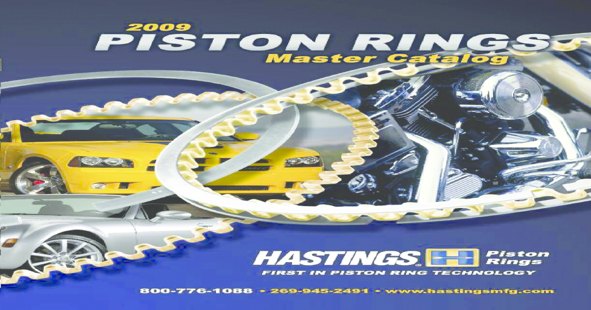 Hastings Manufacturing 2C5716 Chrome Piston Rings