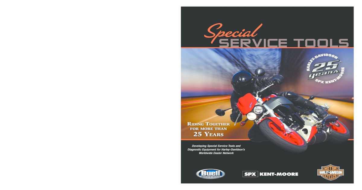 SPX Kent-Moore Harley-Davidson HD-45830-5 TechLink Tech Link