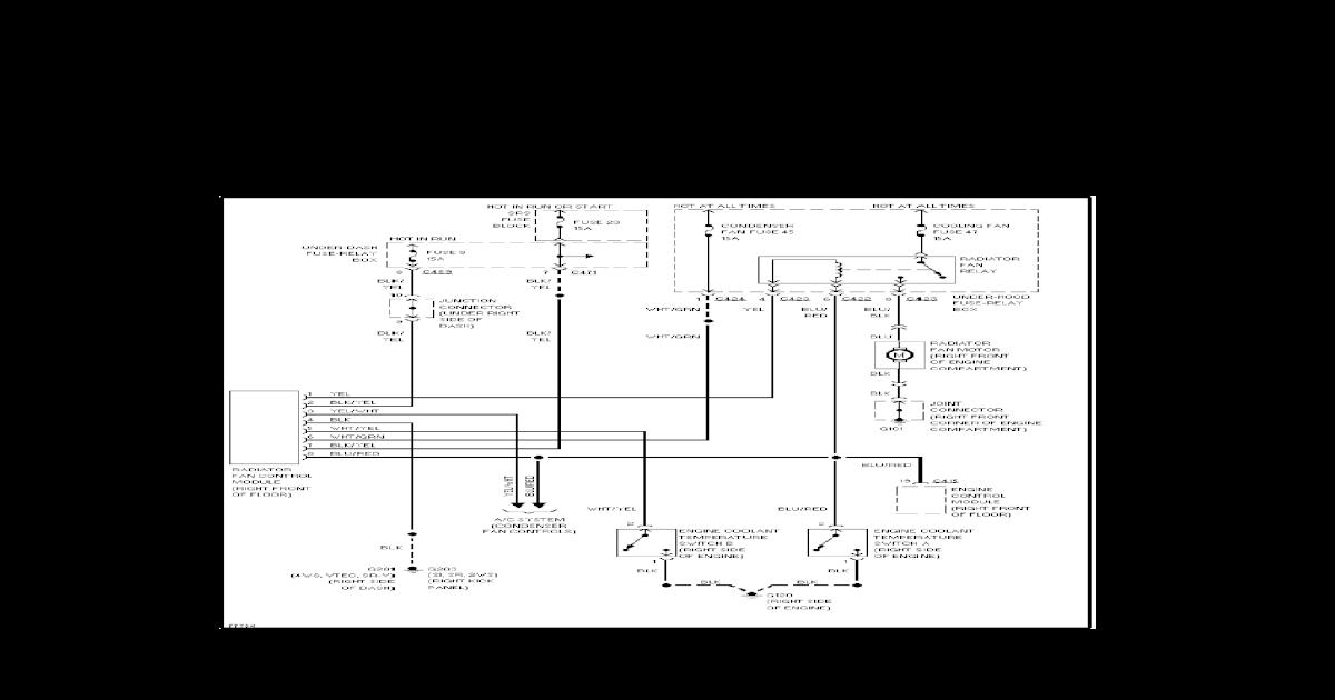 Honda Prelude IV (92-96) - System Wiring Diagrams