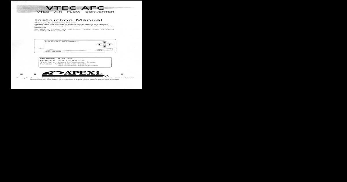 Apexi Installation Instruction Manual: VTEC Air Flow Converter on switch diagrams, honda motorcycle repair diagrams, electronic circuit diagrams, friendship bracelet diagrams, electrical diagrams, pinout diagrams, series and parallel circuits diagrams, battery diagrams, troubleshooting diagrams, smart car diagrams, lighting diagrams, engine diagrams, gmc fuse box diagrams, led circuit diagrams, internet of things diagrams, transformer diagrams, hvac diagrams, motor diagrams, sincgars radio configurations diagrams,