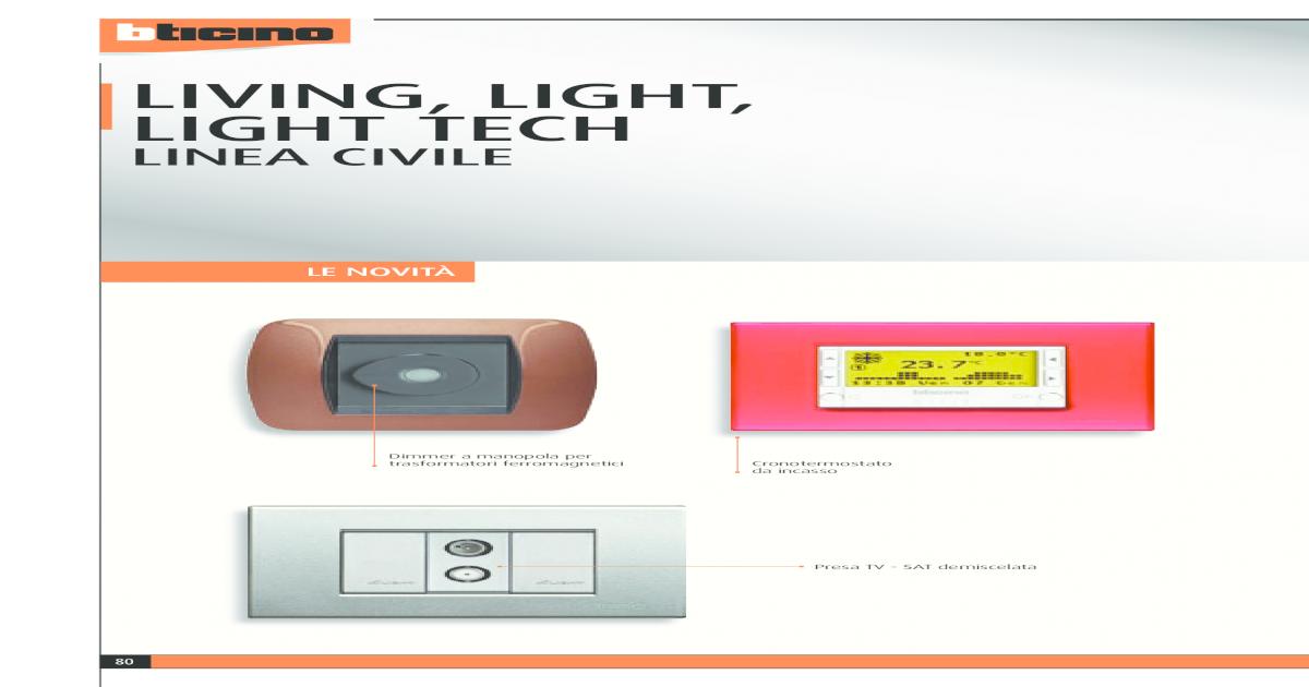 BTICINO N4351//230 SERIE LIGHT SUONERIA BRONZO 230VaC ORIGINALE