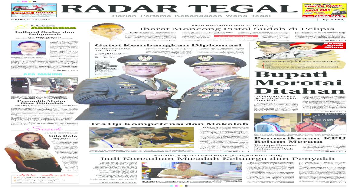 radar Tegal 9 juli 2015