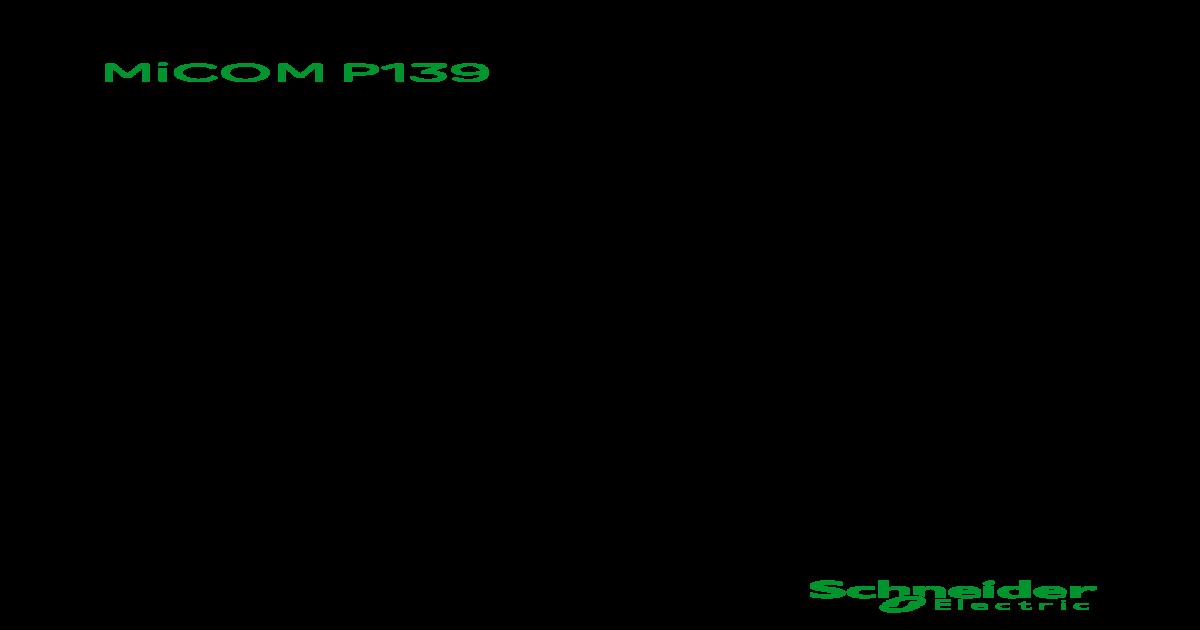 MiCOM P139(Technical Manual 2)
