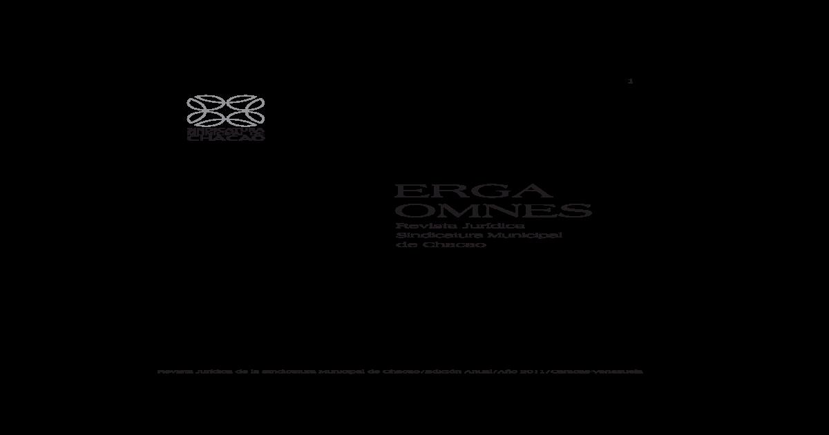 Erga Omnes N 7