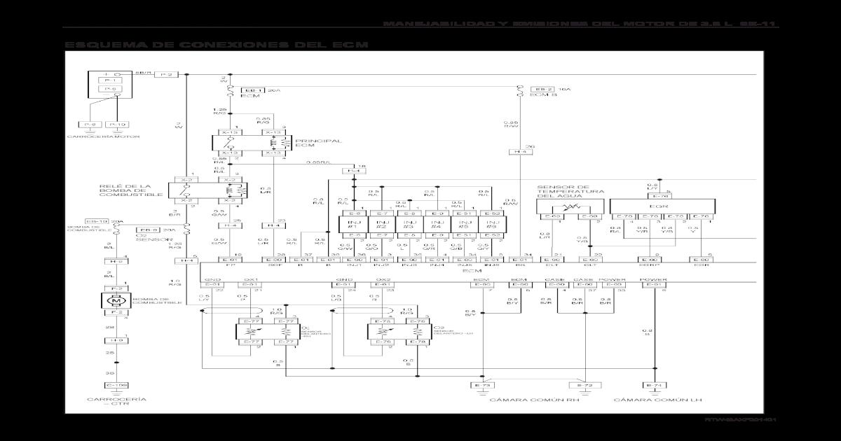 Diagramas Electricos Chevrolet Luv Dmax 3 5l