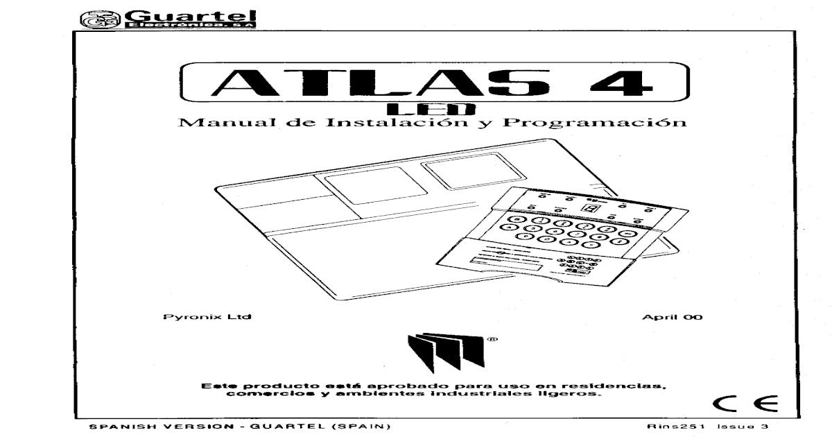 Manual de instalación y programación ATLAS 4