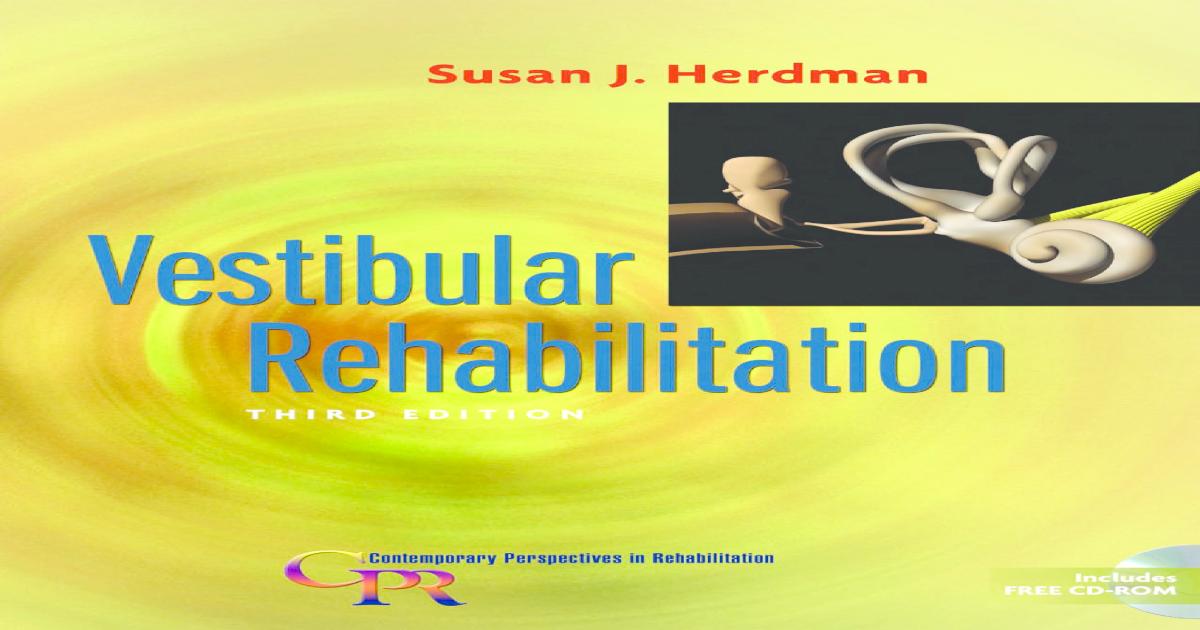 Susan Herdman Rehabilitacion Vestibular