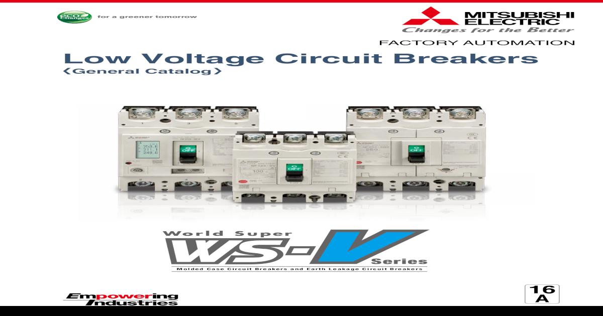 NEW Mitsubishi BH-P M3 Circuit Breaker 240//415 V 30 AMP 3-pole
