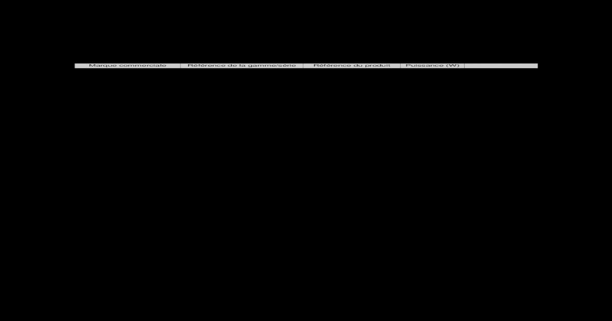 Liste Des Produits Certifis Lciefr Liste Des Produits