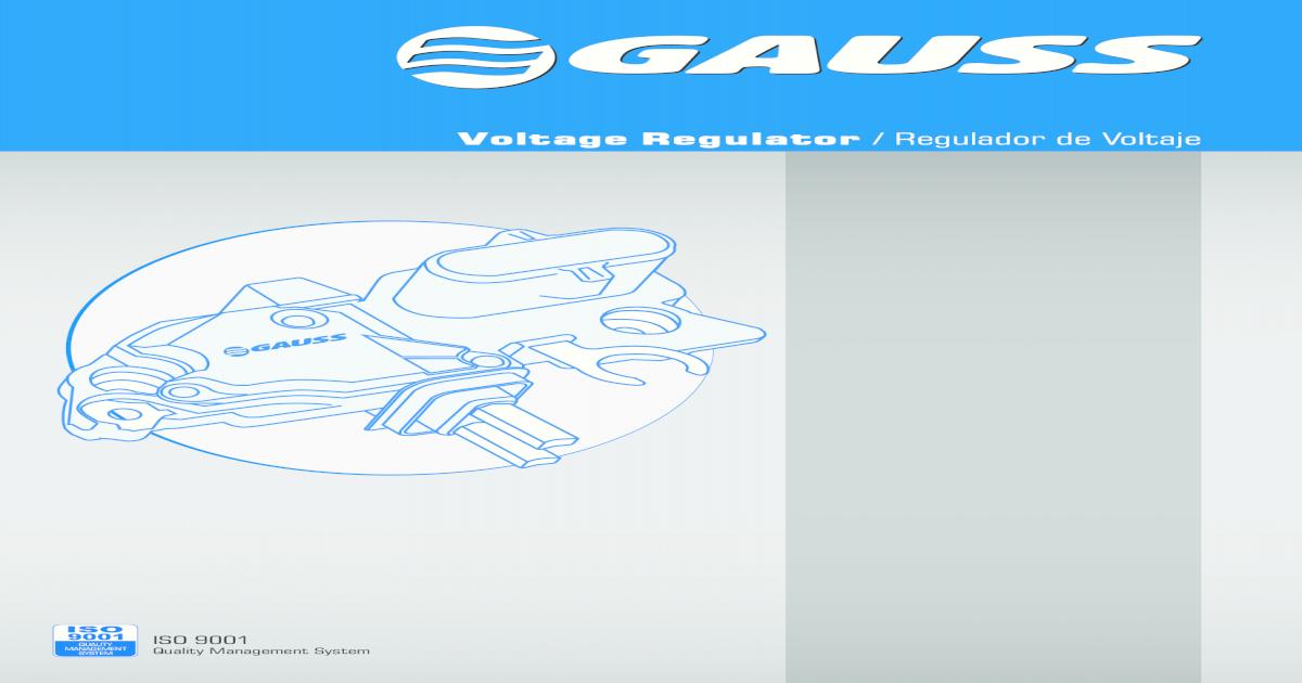 Alternator Voltage Regulator Replaces 1116412 1116434