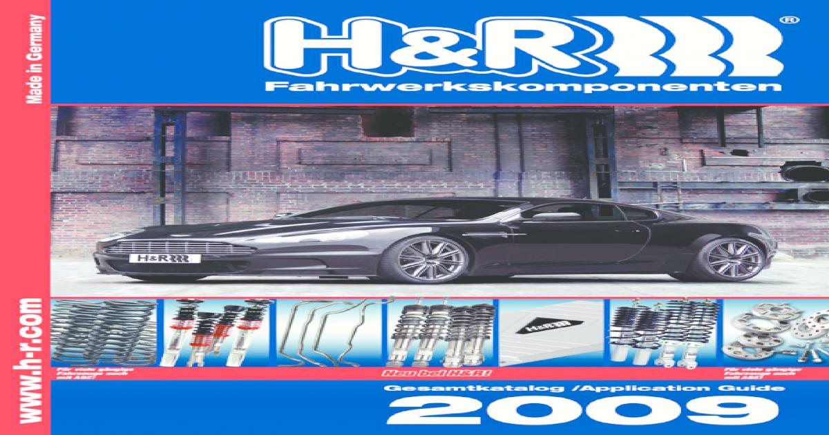 2x H/&R Tieferlegungsfedern HA für Octavia Kombi Bora Variant Go 40mm aus 29408-1