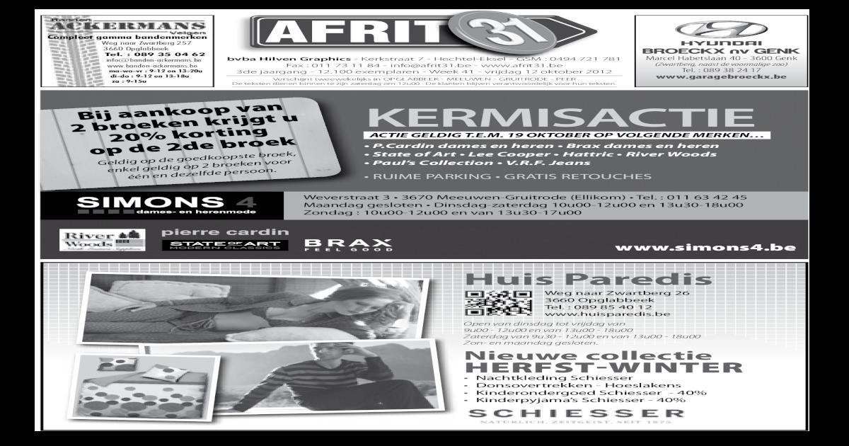 Afrit31 Week 41 2012