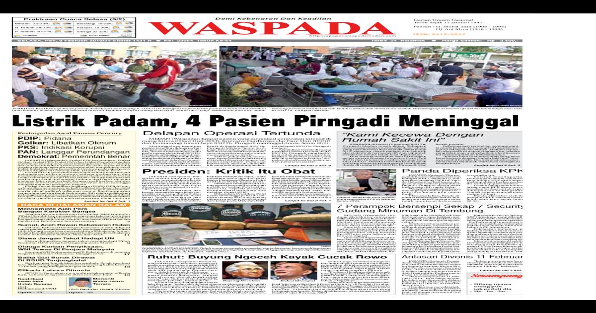 Edisi 9 Medan