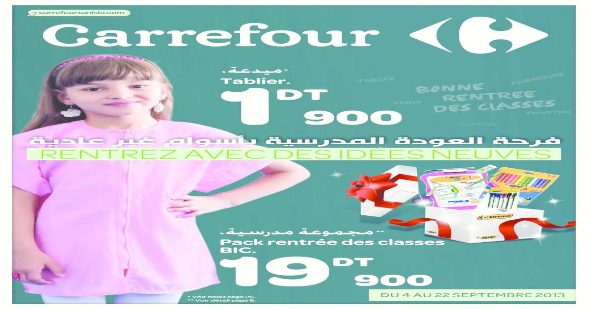 Catalogue Carrefour Rentr Scolaire 2013 Suite