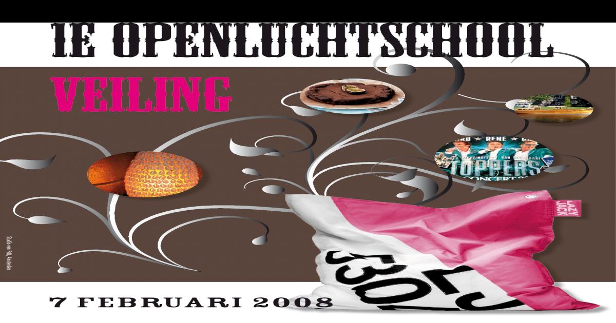 Zitzak Gerard Joling.Veiling Catalogus
