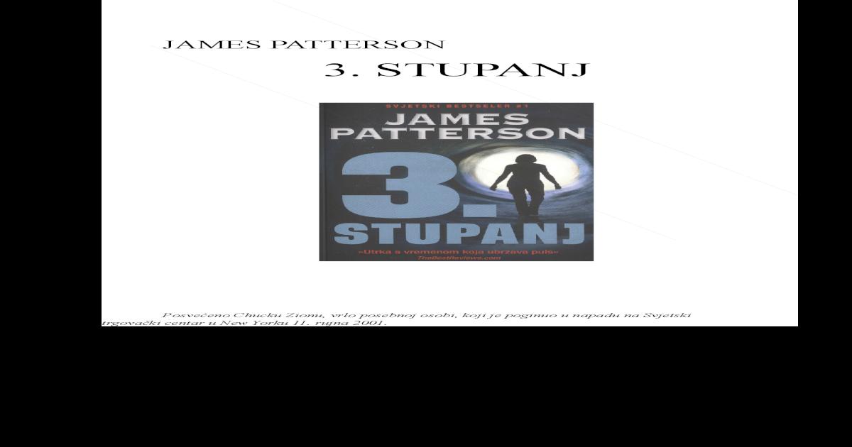 3 Stupanj James Patterson