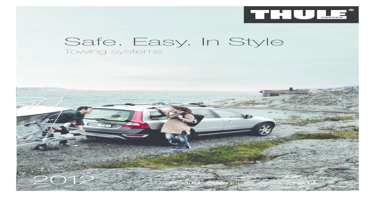 Thule 356600 Trailer Hitch