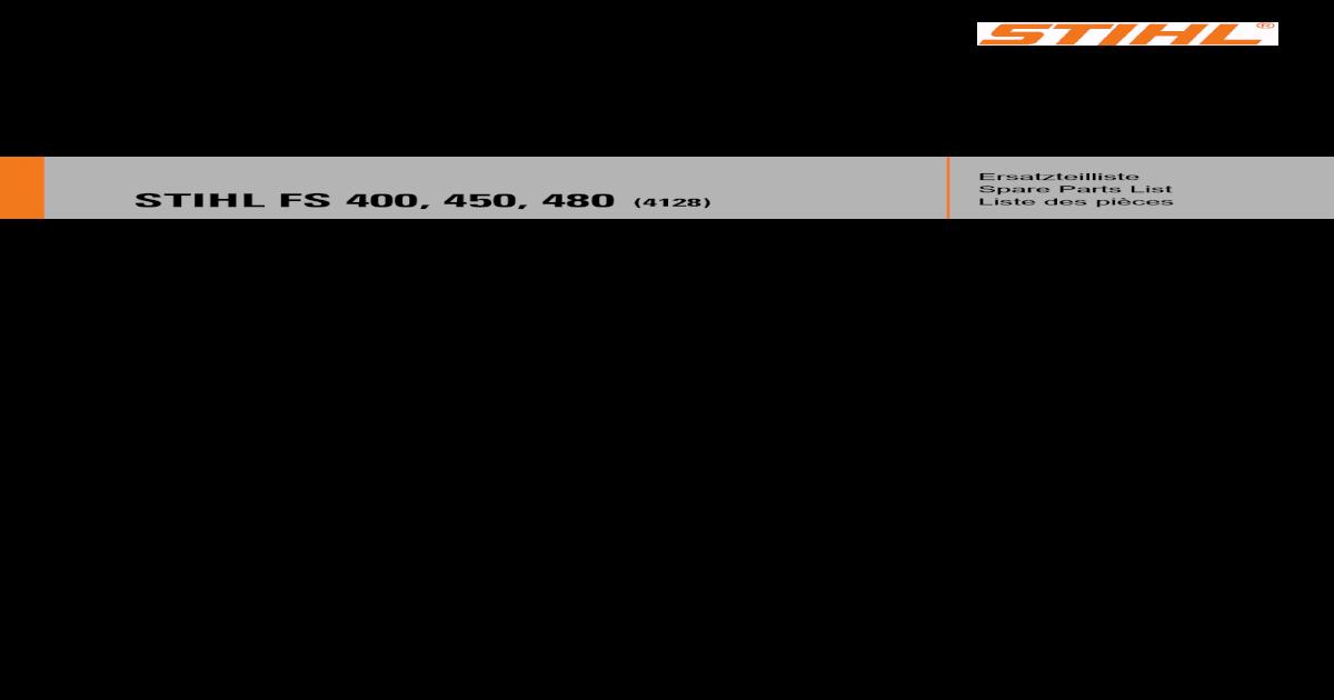 2 X Genuine Stihl FS400//FS450 Embrayage Ressorts 0000 997 5519