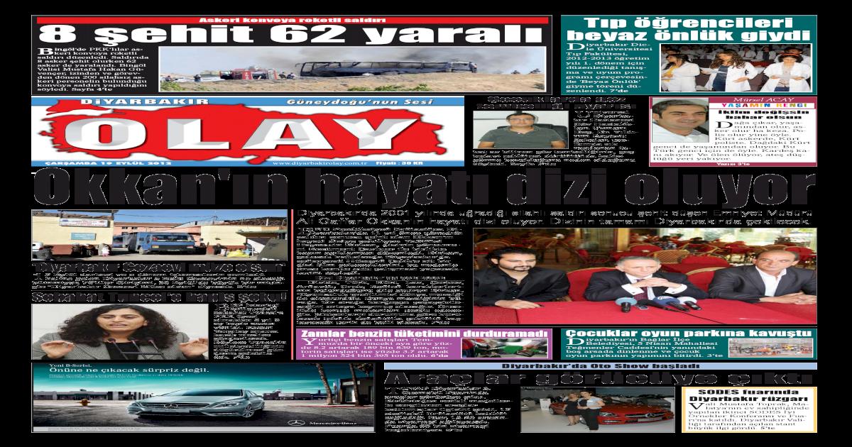 19 09 2012 Gazete Sayfalar