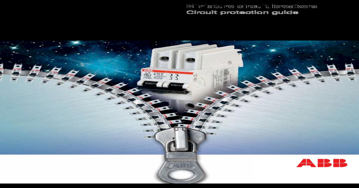 ABB S-202-B10 Miniature Circuit Breaker S200 Series  2Pole 10Amp  480Y//277Vac