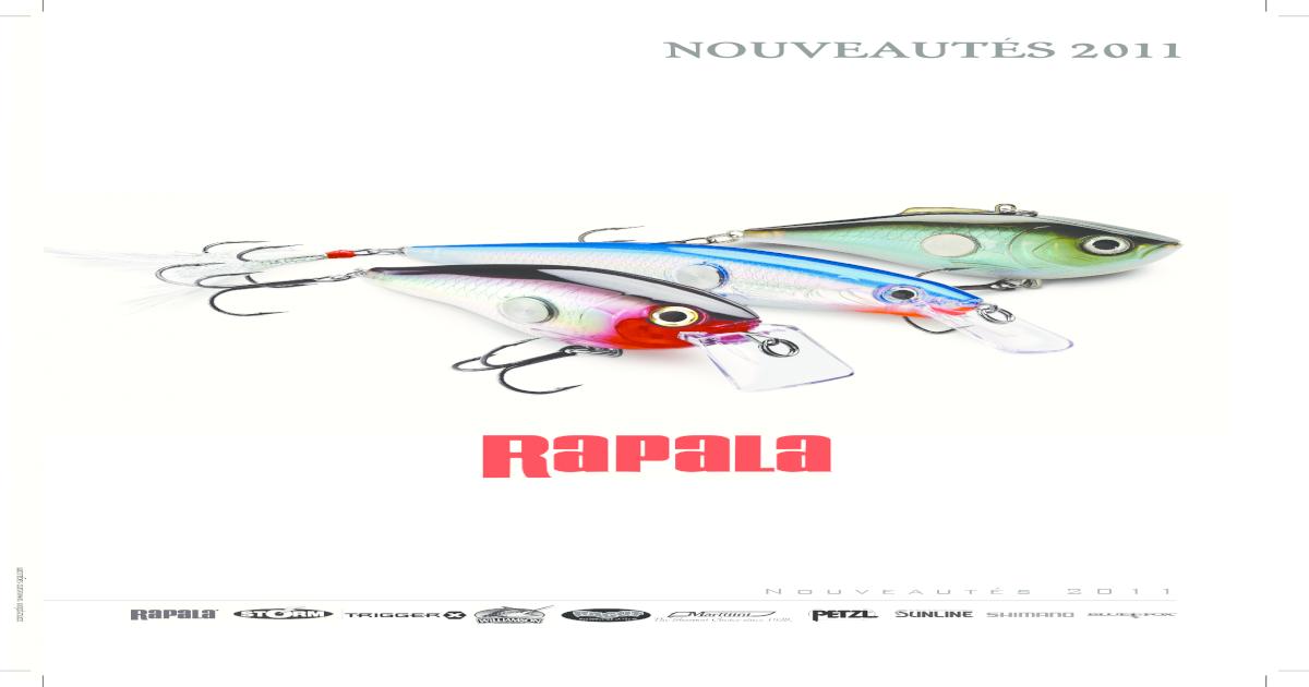 Rapala Cuillère X-RAP 6 cm xr06-P-truite