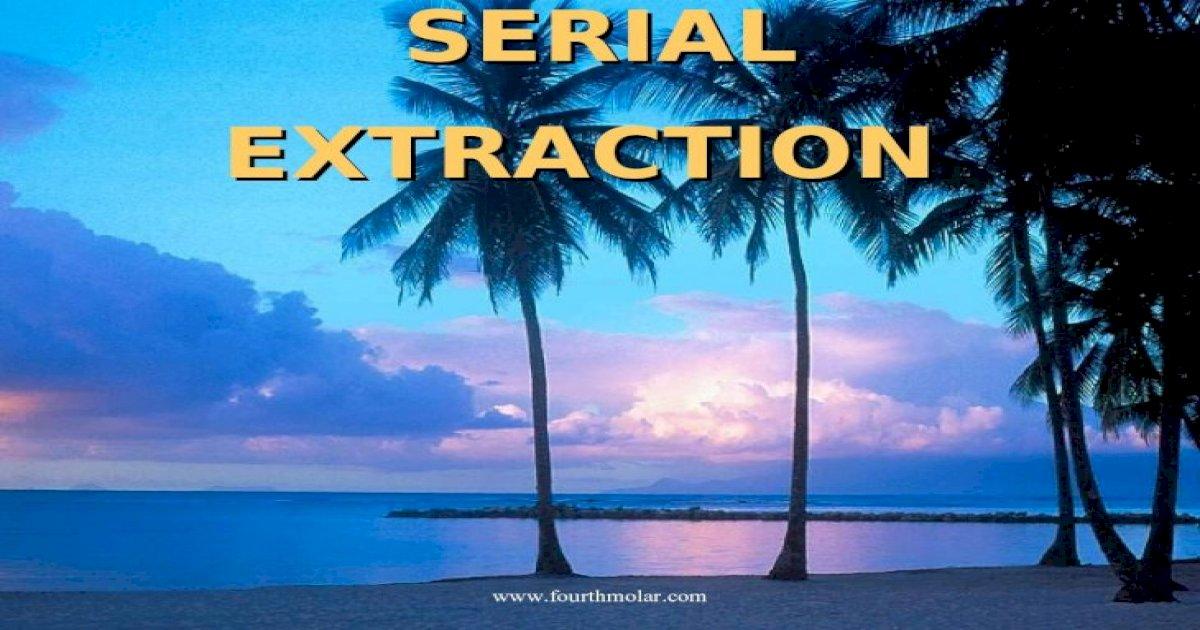 Serial Extraction Pedo