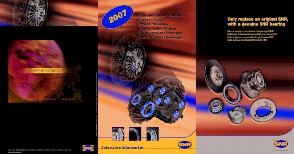 Boîte De Vitesses Roulement SNR n.41660.h300