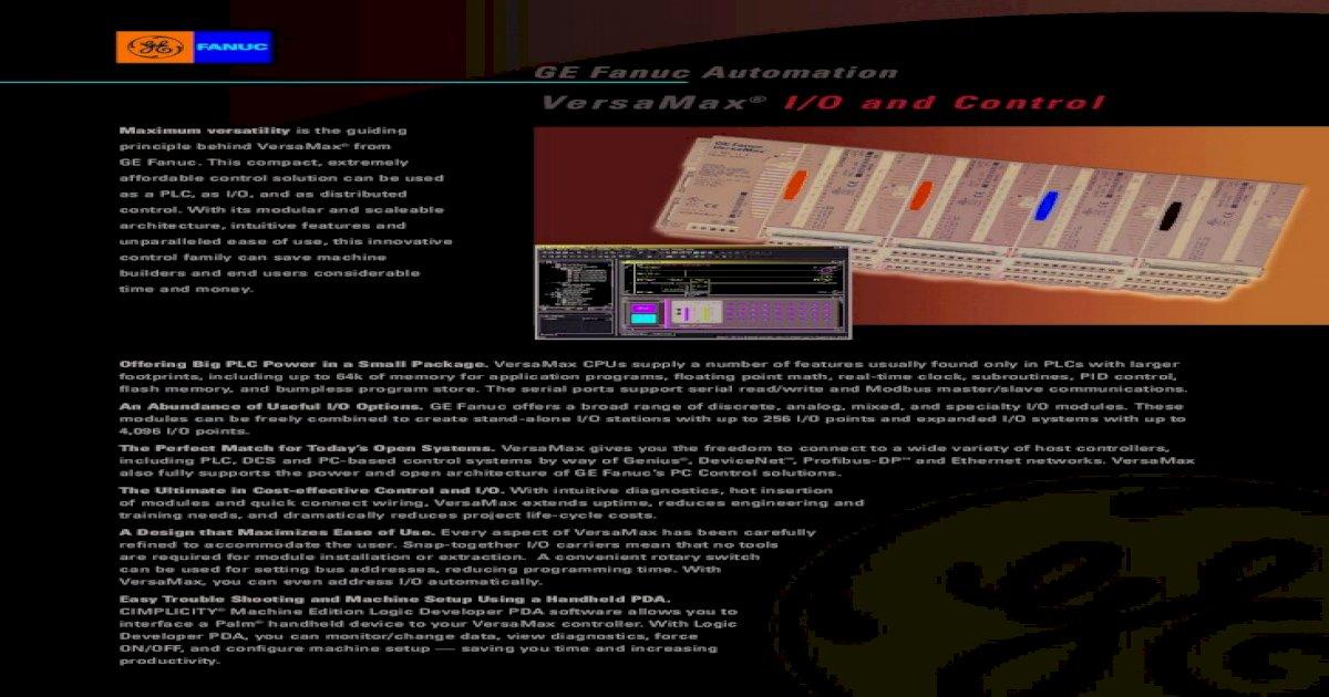 GE Fanuc IC200MDL650K 32 Points Input Module 24VDC POS//NEG logic Used