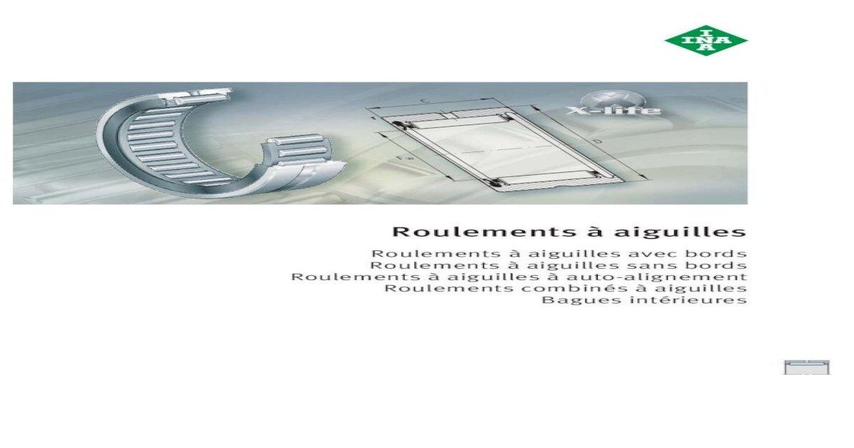 Aiguille Rouleau Bague intérieure ir12x15x22.5 mm