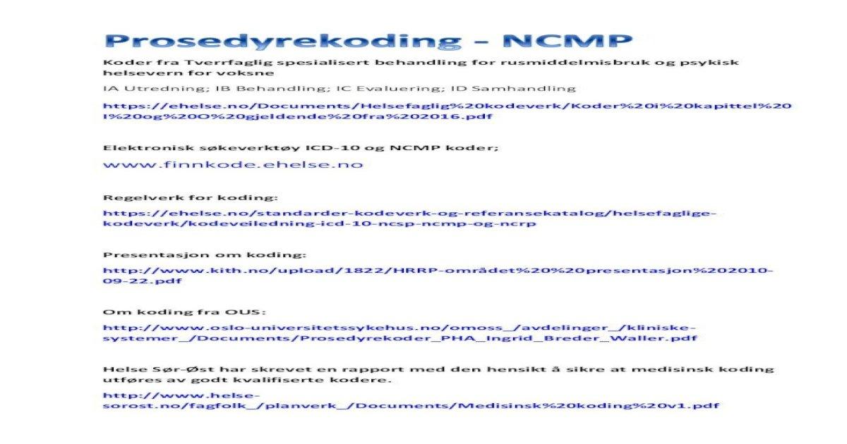 icd 10 koder